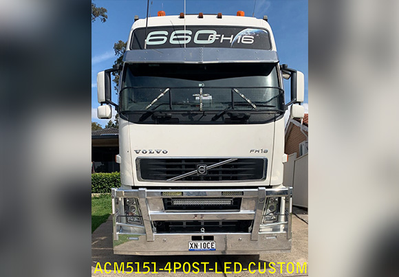 Acm5151 4post Led Volvo 2007 Fh Single Head Light Text