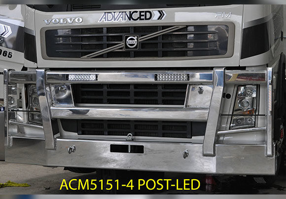 Acm5151 4 Post Volvo Fm Bullbar Single Headlight Text 009