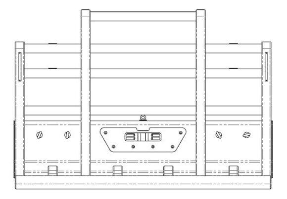 Acm5293 Kenworth C501 C508 C509 6a Bullbar Front