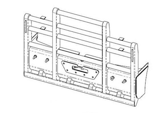 Acm5293 Kenworth C501 C508 C509 6a Bullbar Isofront
