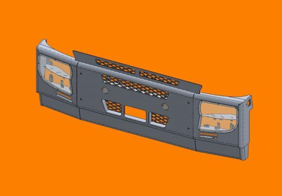 Acm5291 Iveco Stralis Bumper Frontiso