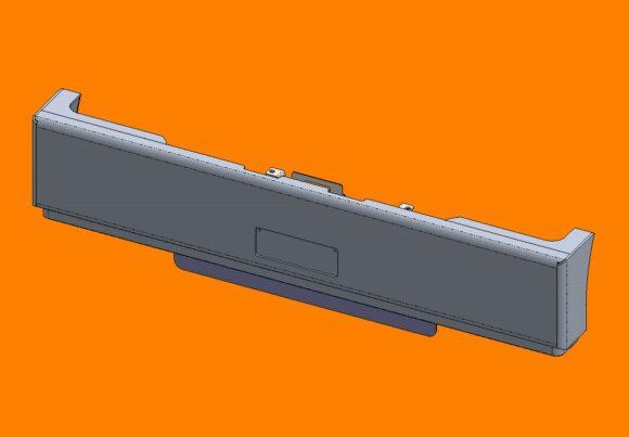 Acm5297 Ra Kenworth T410sar T610sar Bumper Front Iso