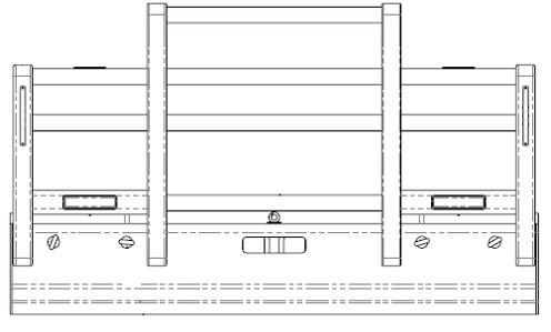 Acm5301 Ken T610sar Bullbar Front