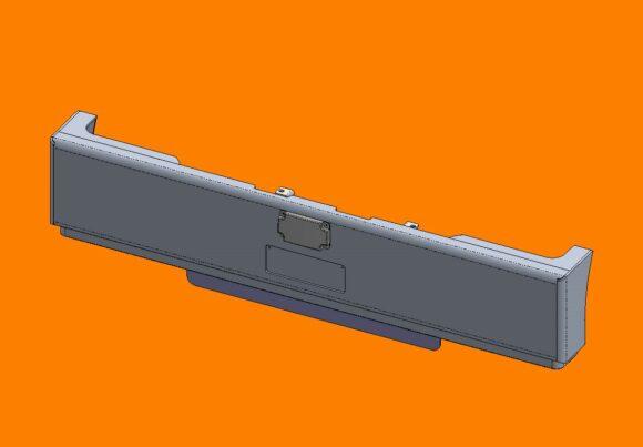 Acm5302 Ra Kenworth T410sar T610sar Bumper Front Iso