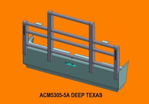 5305 Ra Kenworth T904 T908 T909 5a Deep Texas Bullbar Front Iso