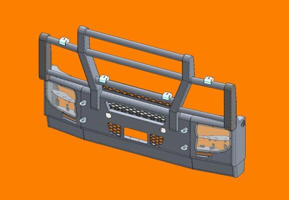 5308 Ra Iveco Stralis Ad At 13+ Bullbar Front Iso