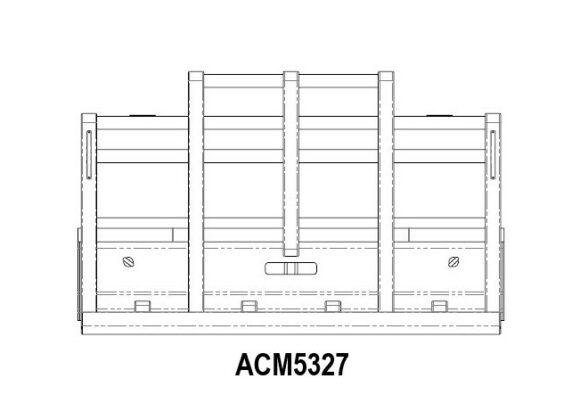 Acm5327 Western Star 48 4900 08+ 5 Post 6a Bullbar Front