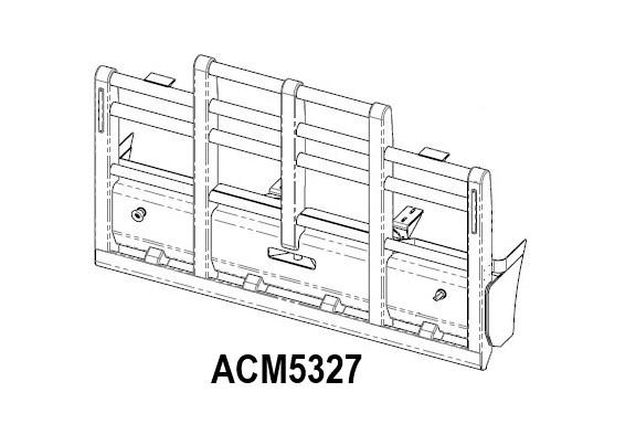 Acm5327 Western Star 48 4900 08+ 5 Post 6a Bullbar Front Iso