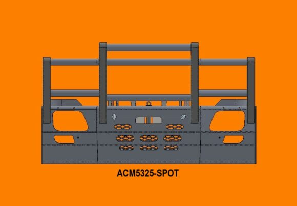 5325 Spot Ra Merc Actros '07 15 5a Bullbar Front