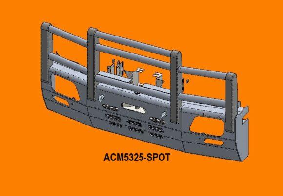 5325 Spot Ra Merc Actros '07 15 5a Bullbar Front Iso