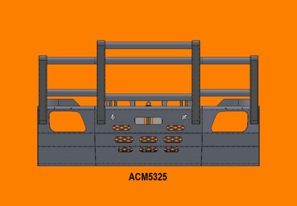 5325 Ra Merc Actros '07 15 5a Bullbar Front