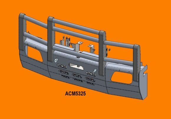 5325 Ra Merc Actros '07 15 5a Bullbar Front Iso