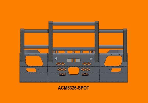 5326 Spot Ra Merc Actros '07 15 5a Bullbar Acc Front