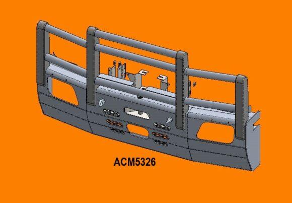 5326 Ra Merc Actros '07 15 5a Bullbar Acc Front Iso
