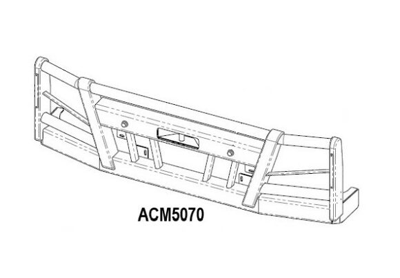 Acm5070 Volvo Fe 14+ Bullbar Front Iso