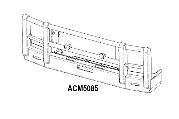 Acm5085 Volvo Fm Fh 03 13 Bullbar 5a Low Profile Front Iso