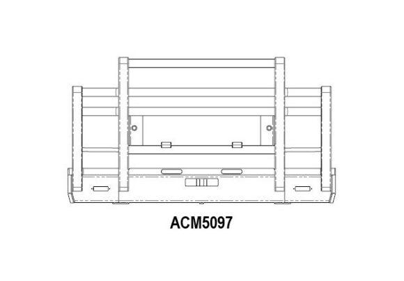 Acm5097 Volvo Fm Fh 03 13 Bullbar 5a Extra High Profile Front