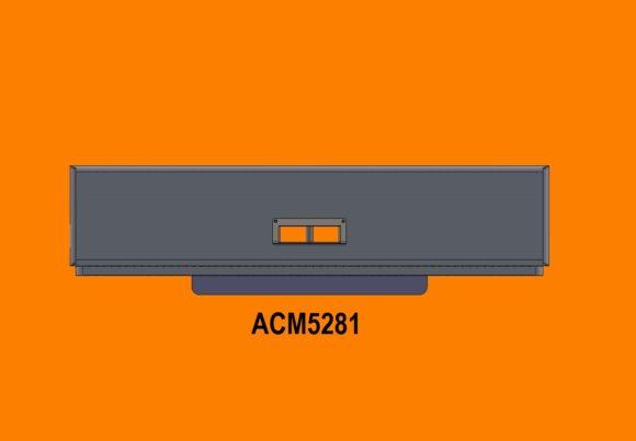 5281 Ra Kenworth T650 Bumper Front Towbox