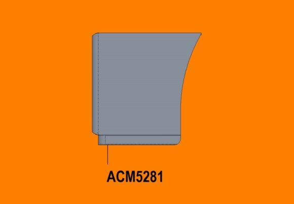 5281 Ra Kenworth T650 Bumper Side