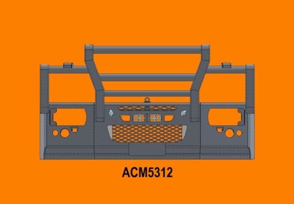 5312 Ra Iveco Eurocargo 16+ 5a Bullbar Front