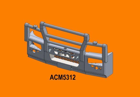 5312 Ra Iveco Eurocargo 16+ 5a Bullbar Front Iso