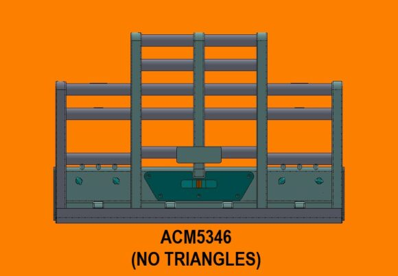 5346 Ra Kenworth T904 T908 T909 7a Bullbar Front No Triangles