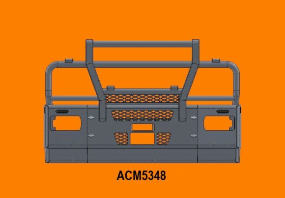 5348 Ra Iveco Stralis Ad At 13+ 5ap Bullbar Replace Factory Steel Bumper Front