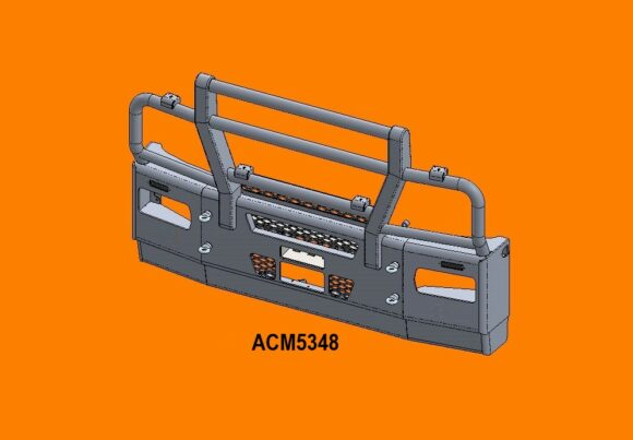 5348 Ra Iveco Stralis Ad At 13+ 5ap Bullbar Replace Factory Steel Bumper Front Iso