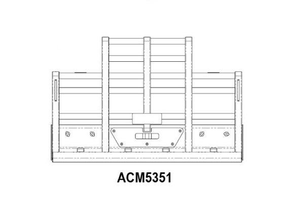 Acm5351 Kenworth T904 T908 T909 5 Post 6a Bullbar Front