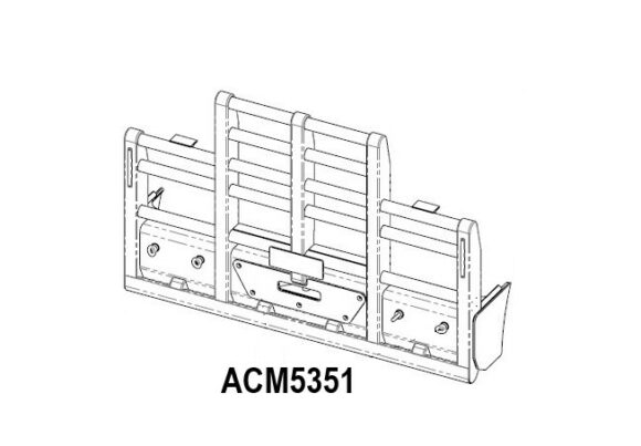 Acm5351 Kenworth T904 T908 T909 5 Post 6a Bullbar Front Iso