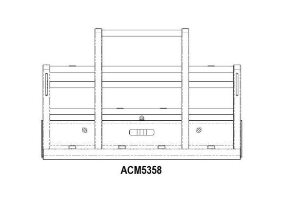 Acm5358 Kenworth T904 T908 T909 6a Bullbar Scarcella Compact Front