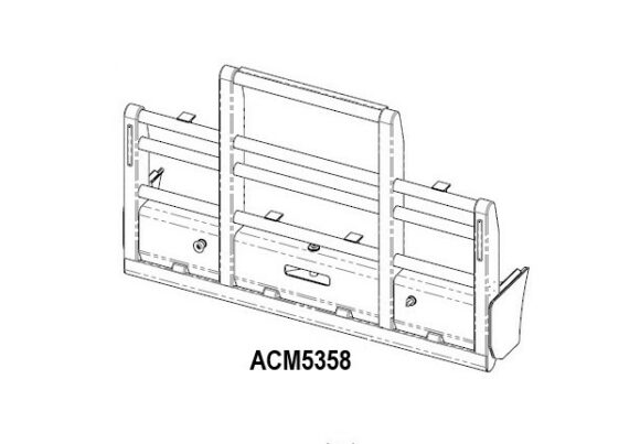 Acm5358 Kenworth T904 T908 T909 6a Bullbar Scarcella Compact Front Iso