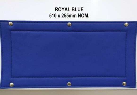Royal Blue Roadtrain Sign Cover