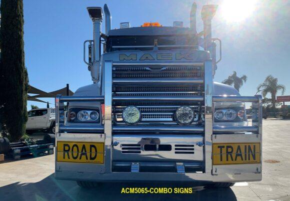 Acm5065 Mack Superliner 6a Bullbar Combo Signs 04