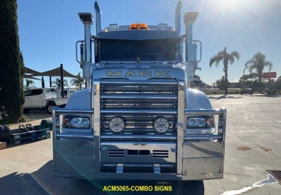 Acm5065 Mack Superliner 6a Bullbar Combo Signs 05