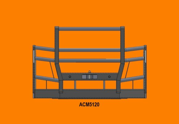 Acm5120 Actros 16+ 5 Blade Grille 5a High Top Front