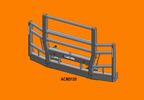Acm5120 Actros 16+ 5 Blade Grille 5a High Top Front Iso