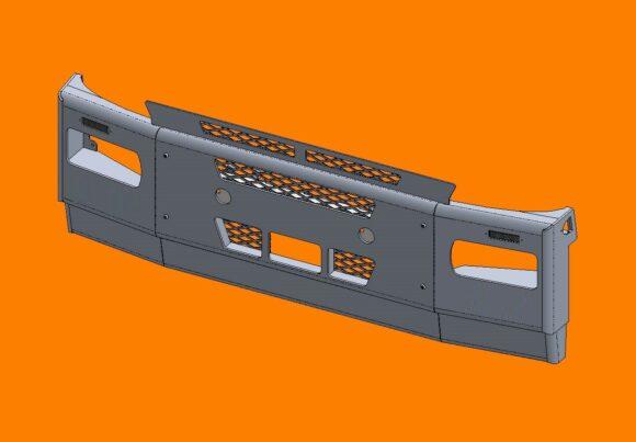 Acm5292 Iveco Stralis Bumper Frontiso