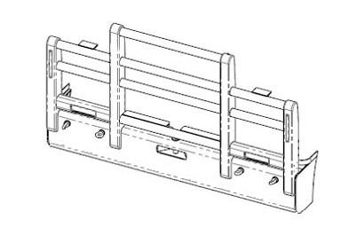 Acm5301 Ken T610sar Bullbar Iso Front
