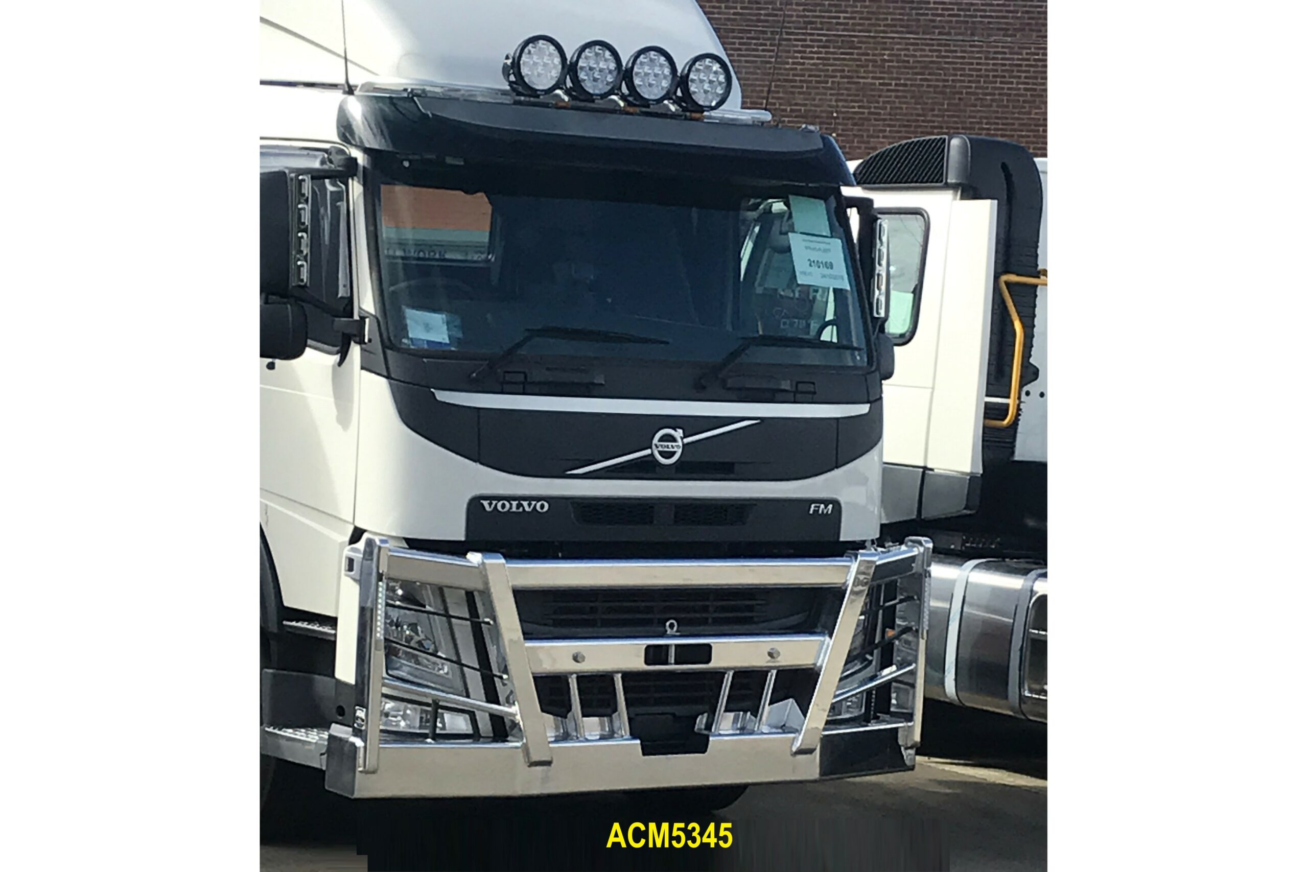 Acm5345 Volvo Fm 14+ Bullbar 4post No Light Bars.supple
