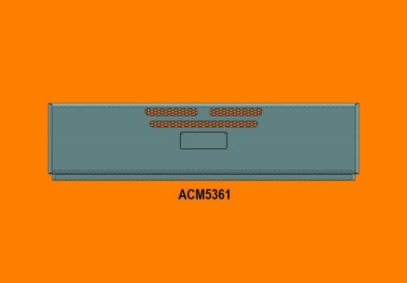 Acm5361 Western Star 4800 4900 11+ Bumper Front