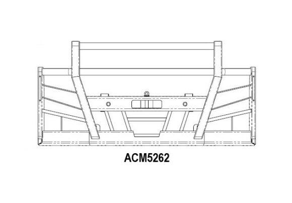 Acm5262 Volvo Fm 2014+ 5a High Top Bullbar Front