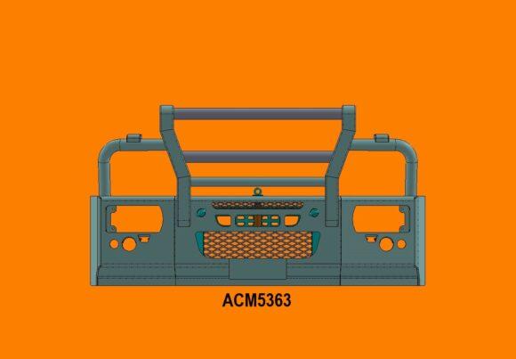 Acm5363 Eurocargo 16+ 5ap Bullbar Front