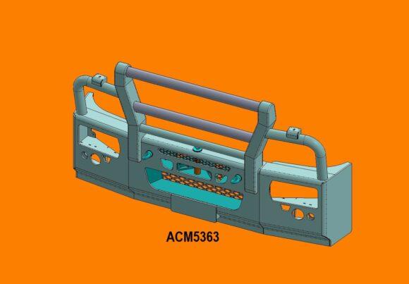 Acm5363 Eurocargo 16+ 5ap Bullbar Front Iso