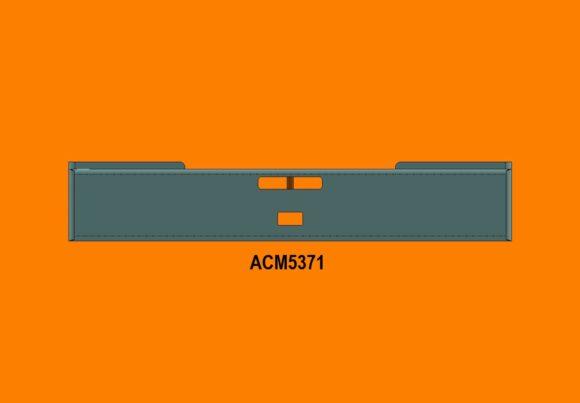 Acm5371 Ra Mack Superliner Lt Bumper Front