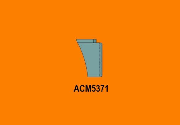 Acm5371 Ra Mack Superliner Lt Bumper Side